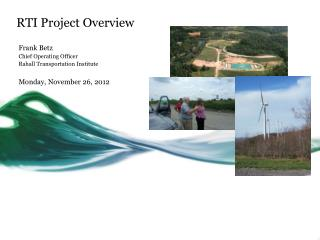 RTI Project Overview