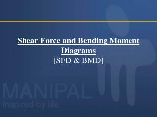 Shear Force and Bending Moment Diagrams [SFD & BMD]