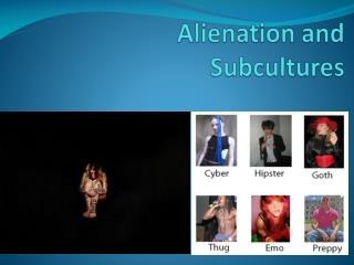 Alienation and Subcultures