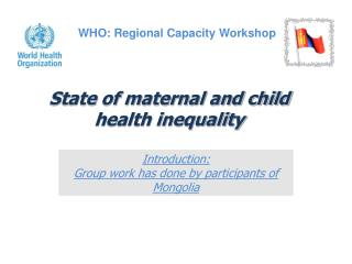 State of maternal and child health inequality