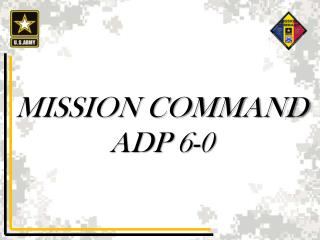 MISSION COMMAND ADP 6-0