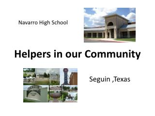 Helpers in our Community