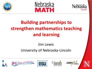 Building partnerships to strengthen mathematics teaching and learning