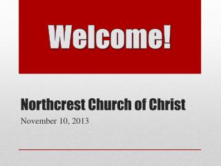 Northcrest Church of Christ