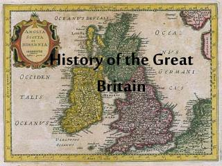 History of the Great Britain