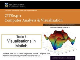 CITS2401  Computer Analysis & Visualisation