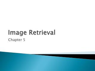 Image Retrieval