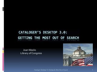 Joan Weeks  Library of Congress