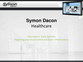 Symon Dacon  Healthcare