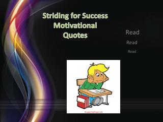 Striding for Success Motivational Quotes