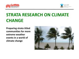 STRATA Research ON CLIMATE CHANGE