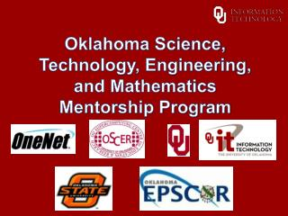 Oklahoma Science, Technology, Engineering, and Mathematics Mentorship Program