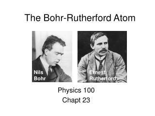 The Bohr-Rutherford Atom