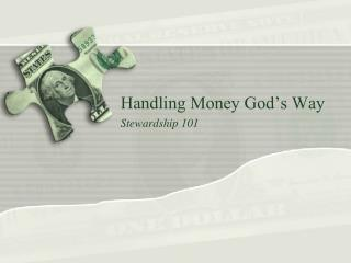 Handling Money God's Way