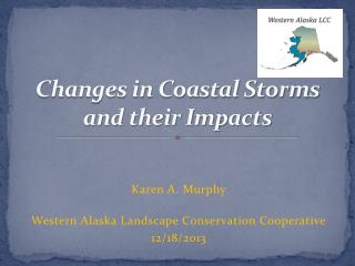 Changes in Coastal Storms  and their Impacts