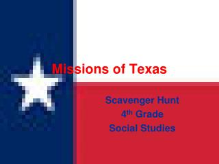 Missions of Texas