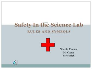 Safety In the Science Lab