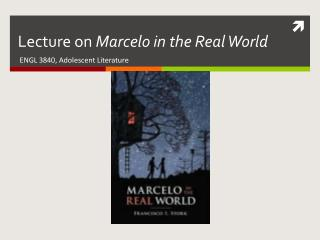 Lecture on  Marcelo in the Real World