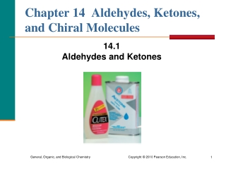 Chapter 16: Aldehydes and Ketones