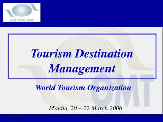 Tourism Destination Management