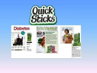 Quick Sticks are easy to use and dissolve  quickly