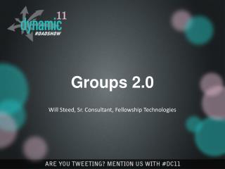 Groups 2.0
