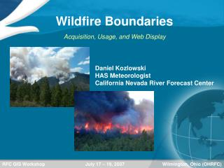 Wildfire Boundaries