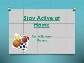 Stay Active at Home