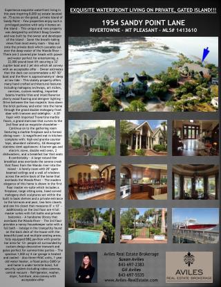 Aviles Real Estate Brokerage Susan Aviles 843-697-2383 Gil Aviles 843-697-5535