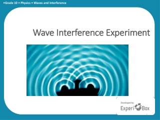 A Practical Application of Destructive Interference