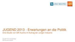 Growth  from Knowledge GfK Austria GmbH