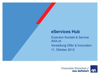 eServices  Hub