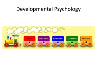Cognitive Developmental Approaches Piaget Last three stages