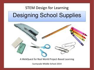 STEM Design for Learning