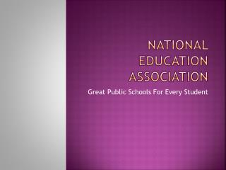 National Education Association