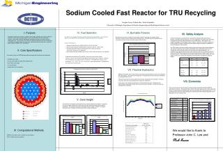 Sodium Cooled Fast Reactor for TRU Recycling