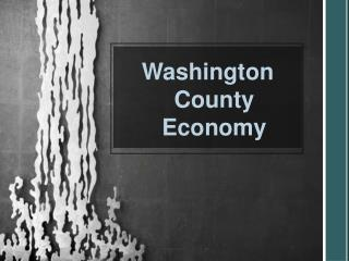Washington County Economy