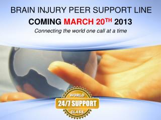 BRAIN INJURY PEER SUPPORT LINE