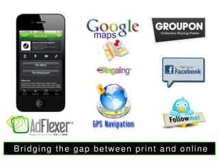 Bridging the gap between print and online
