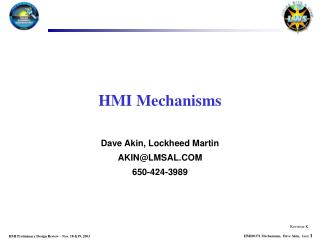 HMI Mechanisms