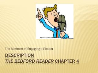 Description The Bedford reader  chapter 4