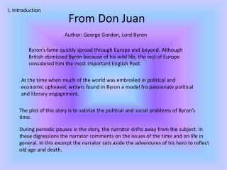 From Don Juan