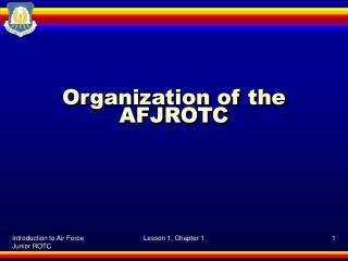 Organization of the AFJROTC