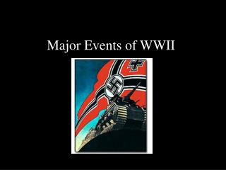 Major Events of WWII