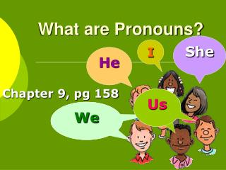 What are Pronouns?