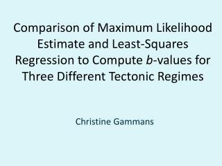 Christine  Gammans