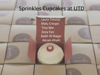 Sprinkles Cupcakes at UTD