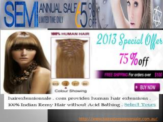 Hair Extensions Online in Au