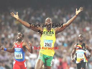 Track and Field Sprints