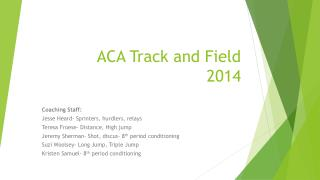 ACA Track and Field 2014